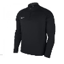 Nike Long Sleeved Black Drill Top