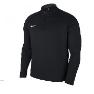 Nike Long Sleeved Black Drill Top